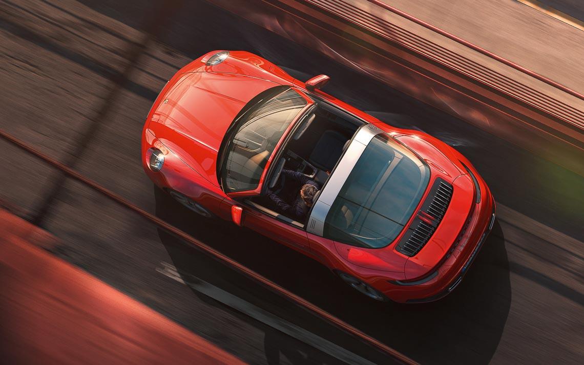 Porsche 911 Targa mới - Biểu tượng phong cách của dòng xe 911 bước vào thế hệ thứ 8 - 2