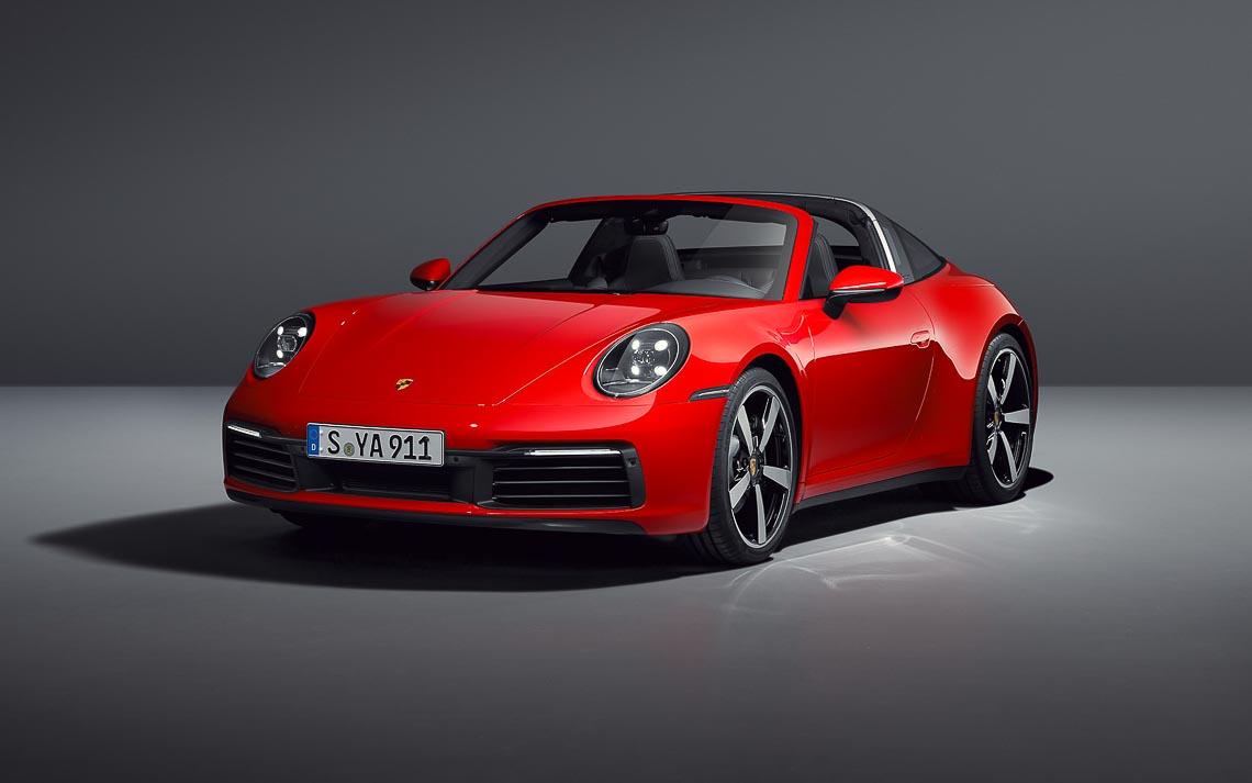 Porsche 911 Targa mới - Biểu tượng phong cách của dòng xe 911 bước vào thế hệ thứ 8 - 4