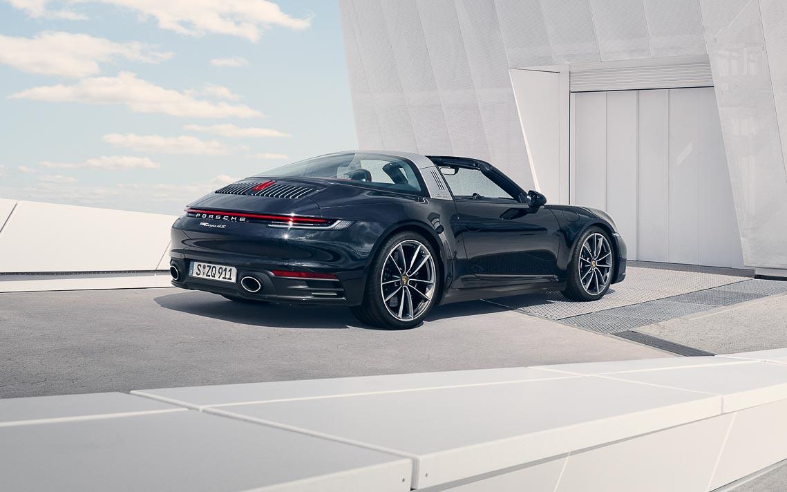 Porsche 911 Targa mới - Biểu tượng phong cách của dòng xe 911 bước vào thế hệ thứ 8 - 7
