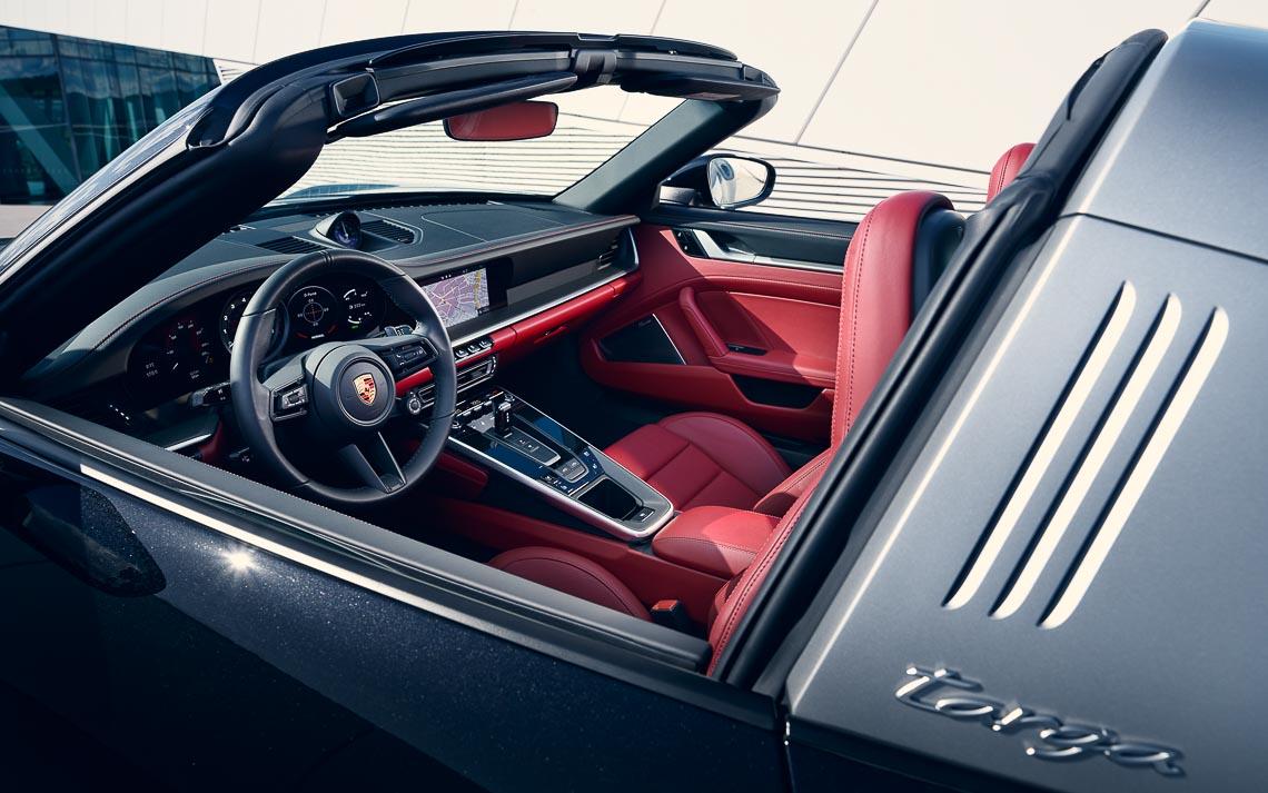 Porsche 911 Targa mới - Biểu tượng phong cách của dòng xe 911 bước vào thế hệ thứ 8 - 9