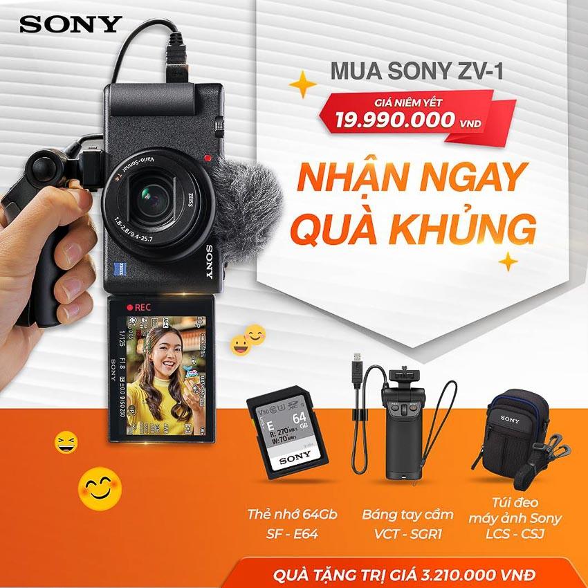 Sony giới thiệu camera nhỏ gọn ZV-1 dành cho nhà sáng tạo video - 1