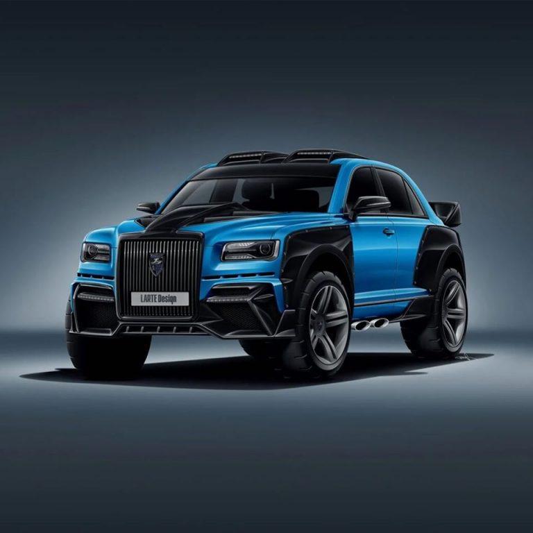 'Rolls-Royce Nga' lột xác thành SUV off-road hạng nặng - 2