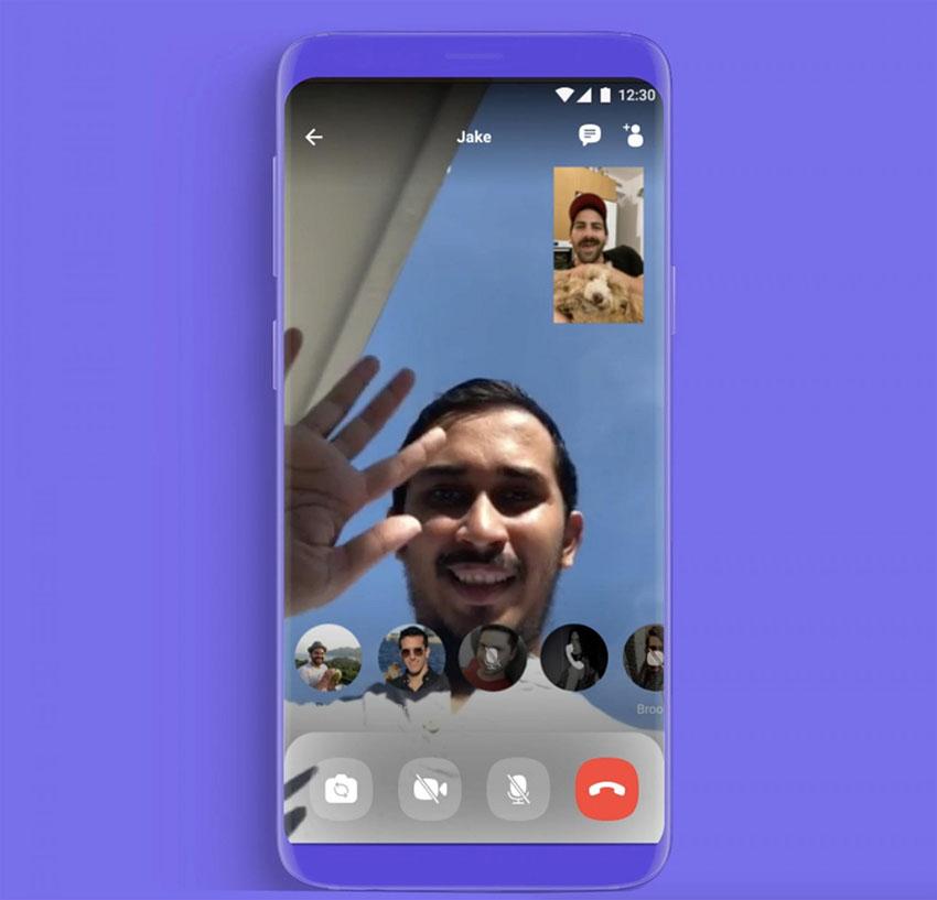 Viber chính thức ra mắt tính năng gọi video nhóm lên đến 20 người - 4