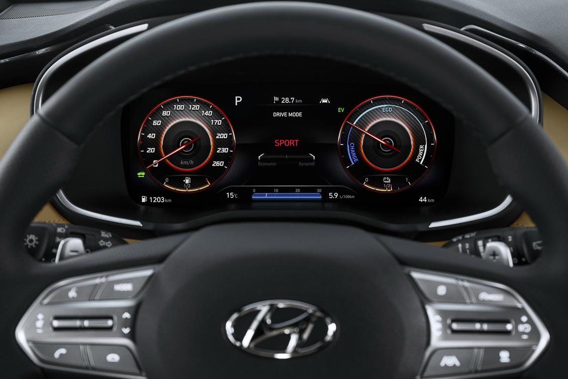 Hyundai Santa Fe 2021 ra mắt chính thức, thay đổi ngoại hình và công nghệ 15