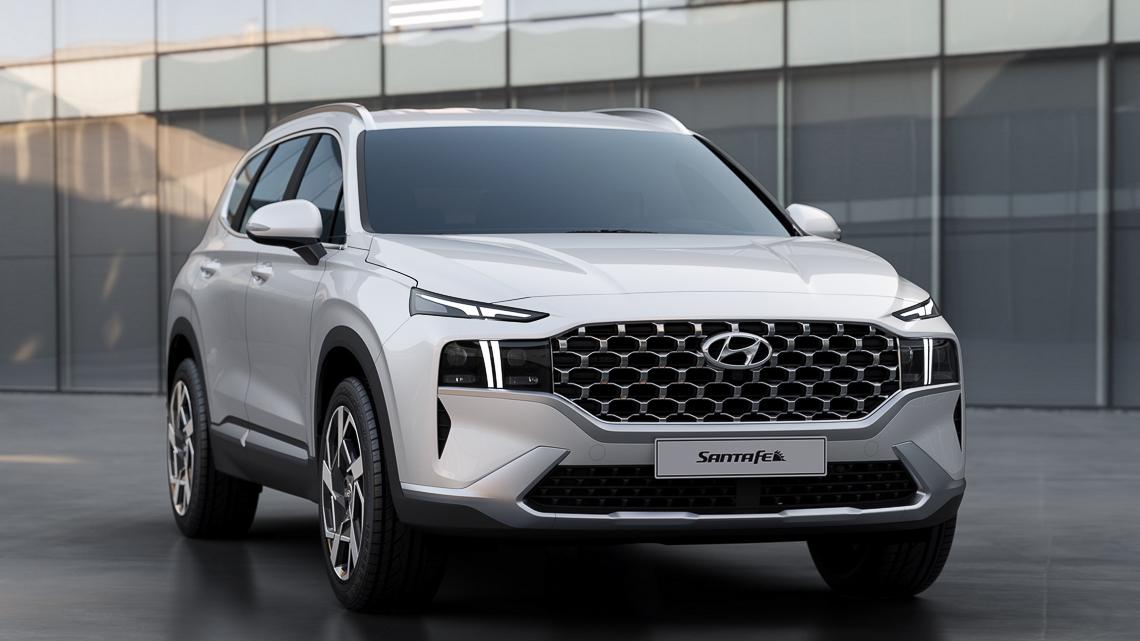 Hyundai Santa Fe 2021 ra mắt chính thức, thay đổi ngoại hình và công nghệ - 2