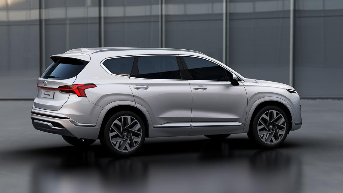 Hyundai Santa Fe 2021 ra mắt chính thức, thay đổi ngoại hình và công nghệ - 5