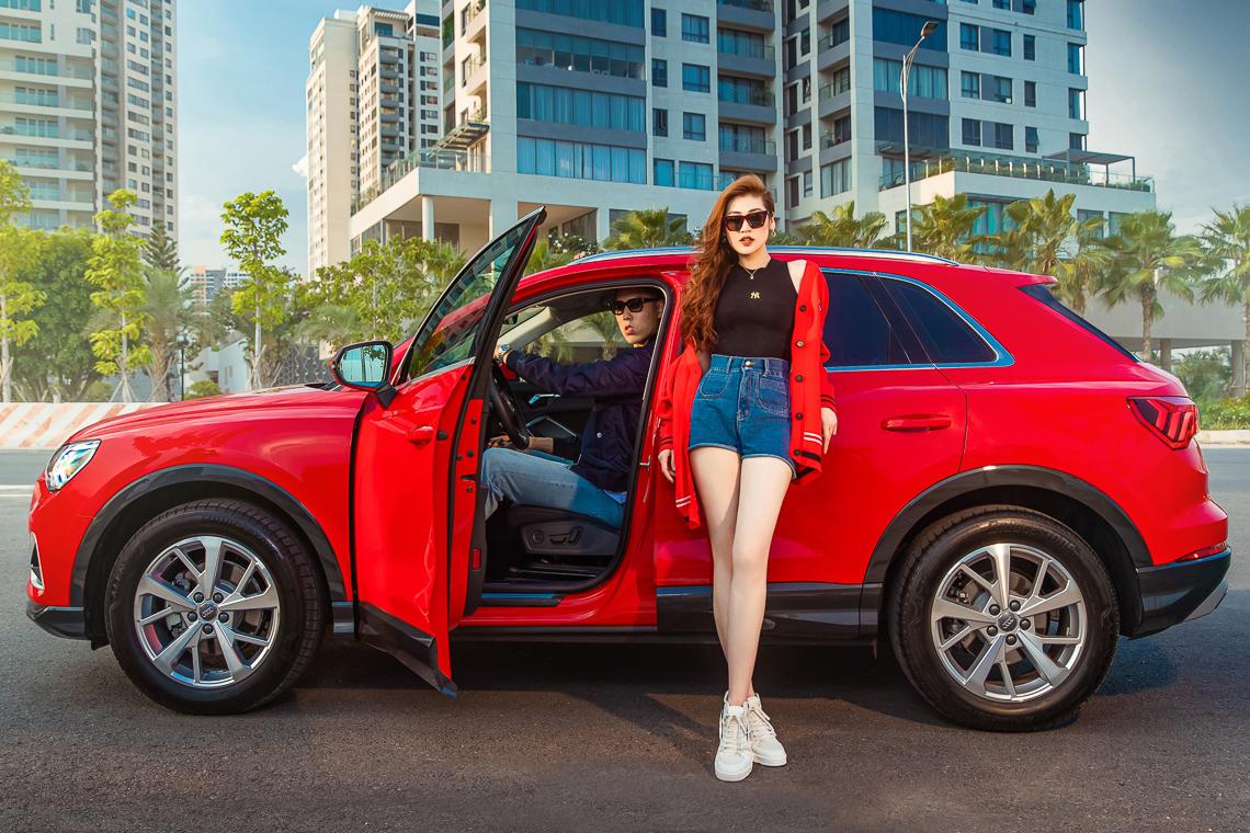 Audi Q3 hiện đại bắt đầu trình diễn tại Việt Nam - 2