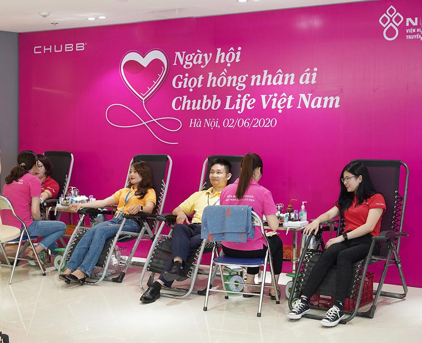 Ngày hội Giọt hồng nhân ái Chubb Life Việt Nam - 2