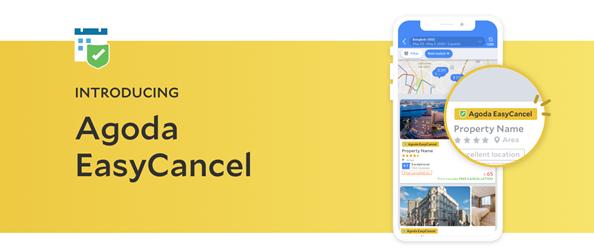 Tính năng EasyCancel mới cho phép người dùng hủy phòng miễn phí lên tới 24 tiếng