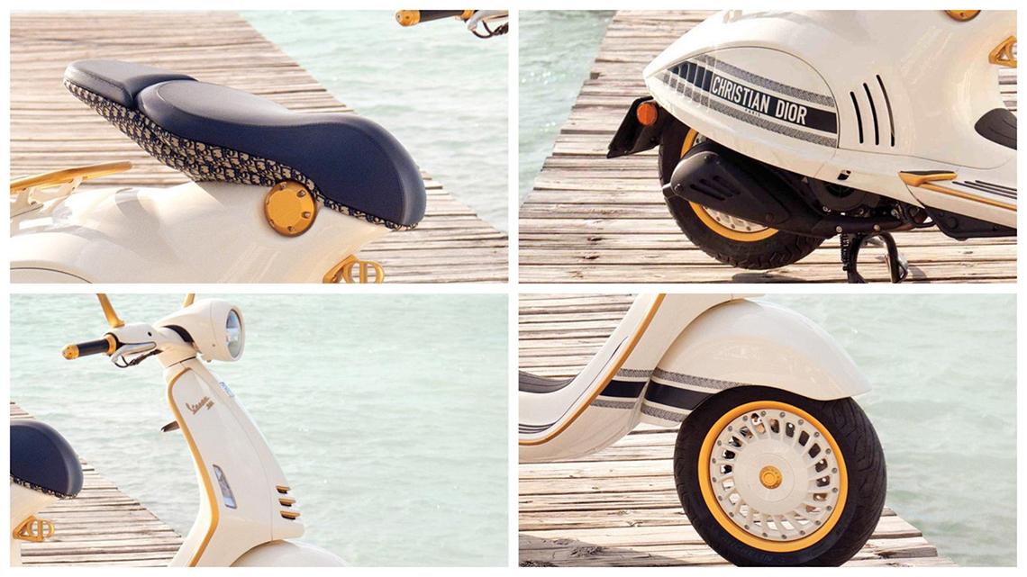 Chiếc xe Vespa 946 Christian Dior, biểu tượng mới của La Dolce Vita - 3