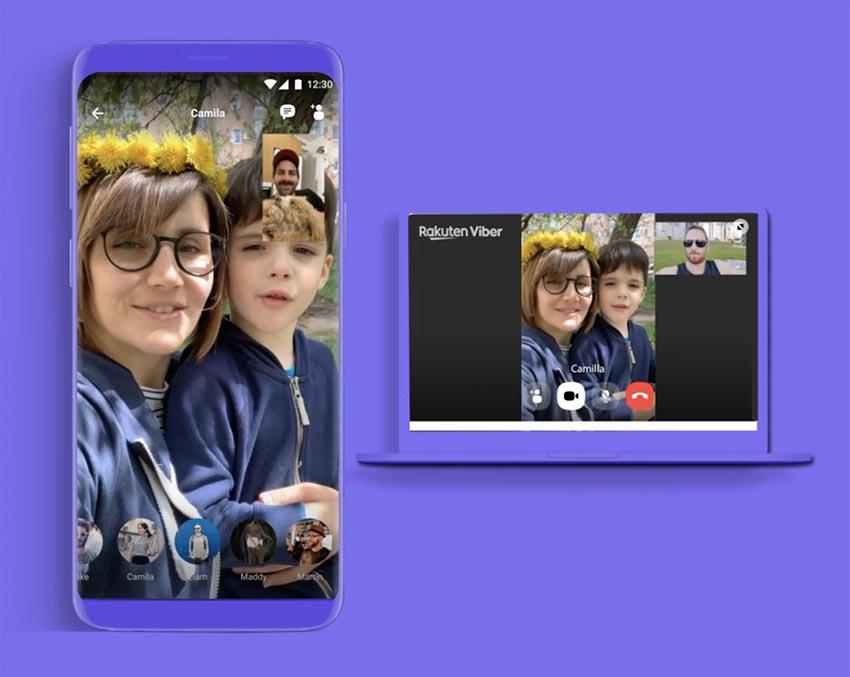 Viber chính thức ra mắt tính năng gọi video nhóm lên đến 20 người - 2