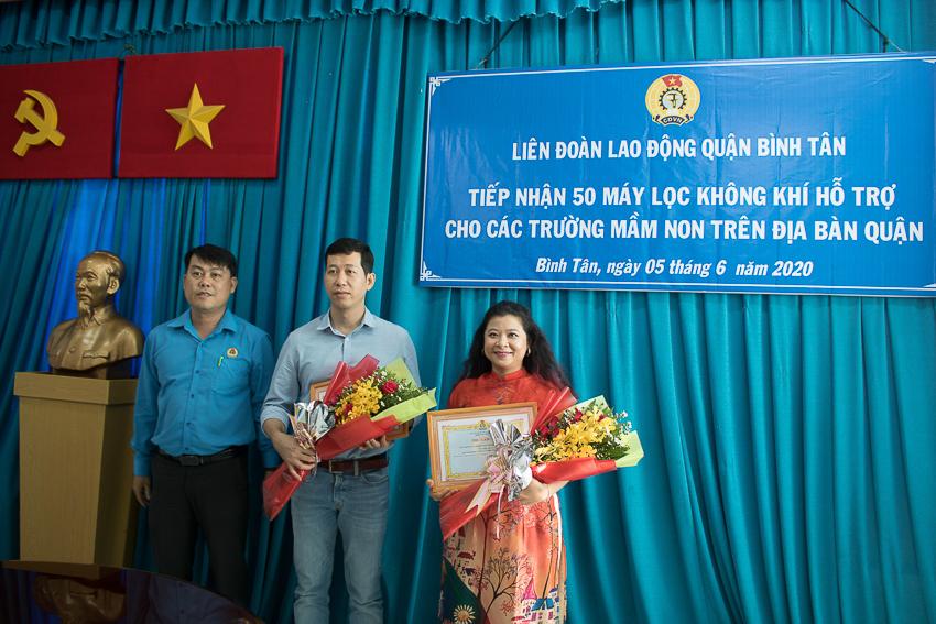Xiaomi Việt Nam tặng 50 máy lọc không khí cho các trường mầm non trên địa bàn quận Bình Tân - 2