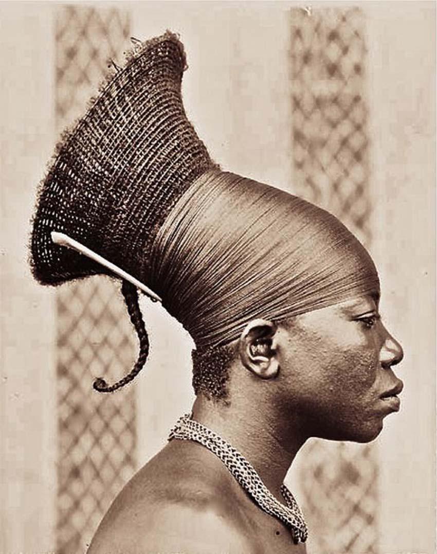 Đằng sau đầu dài ngoẵng của người Mangbetu -5