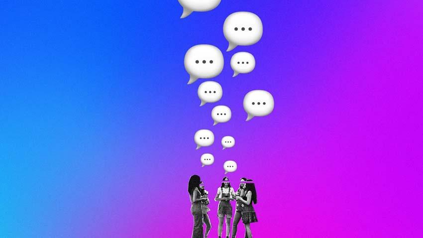 Mạng xã hội chán chữ, ngán hình -2