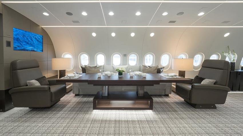 'Máy bay VIP': Xu hướng 'chơi trội' mới của giới siêu giàu -6