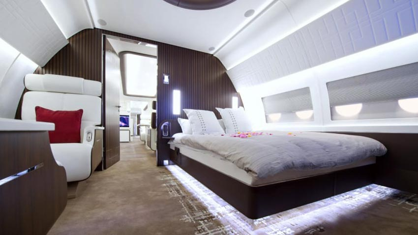 'Máy bay VIP': Xu hướng 'chơi trội' mới của giới siêu giàu -7
