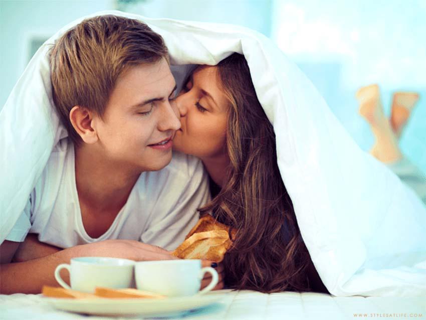 Những cách đáng yêu để đánh thức bạn đời vào mỗi buổi sáng -2