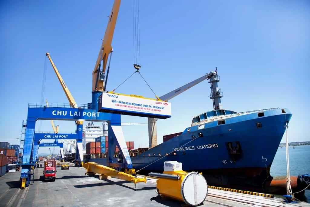Thaco tiếp tục xuất khẩu sơmi rơmoóc sang Mỹ - 2