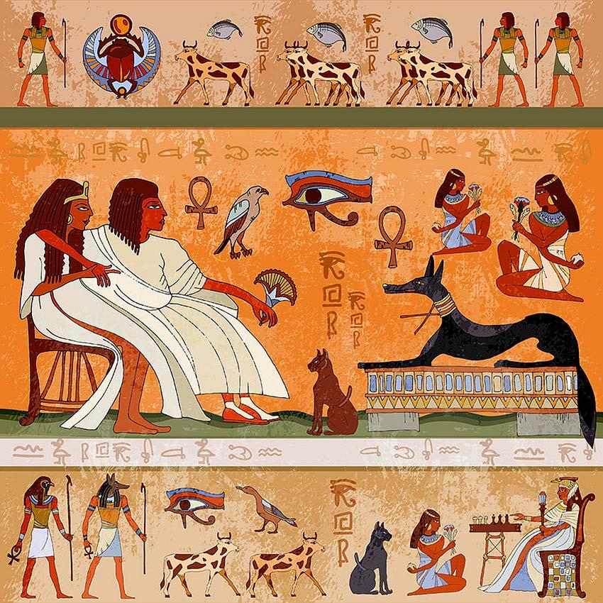 Thú vị Hieroglyph, chữ tượng hình Ai Cập -1