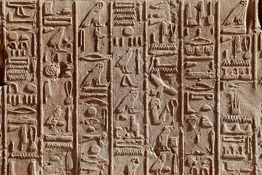 Thú vị Hieroglyph, chữ tượng hình Ai Cập -4