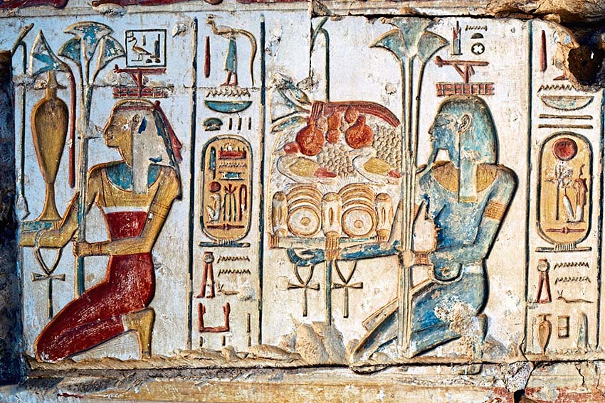 Thú vị Hieroglyph, chữ tượng hình Ai Cập -7