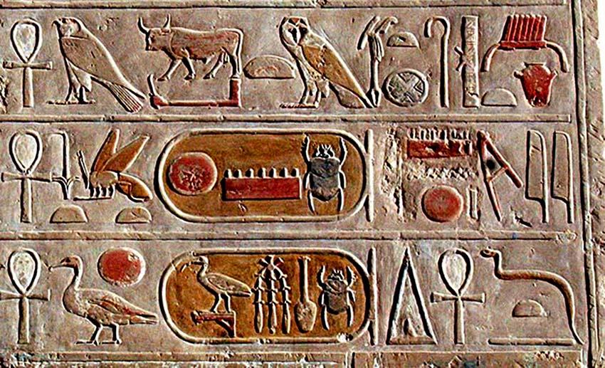 Thú vị Hieroglyph, chữ tượng hình Ai Cập -8
