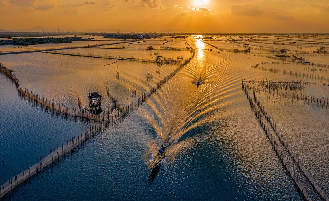 Vẻ đẹp trù phú của vùng nước Tam Giang - Cầu Hai -9