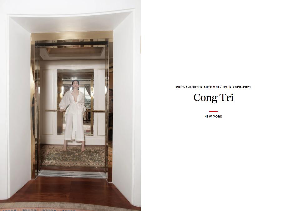 Bộ ảnh thời trang CONG TRI do Hà Hồ và Thanh Hằng lên Vogue Pháp - 0