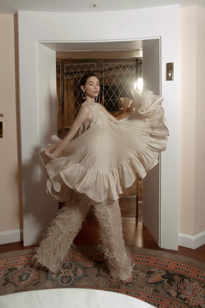 Bộ ảnh thời trang CONG TRI do Hà Hồ và Thanh Hằng lên Vogue Pháp - 12