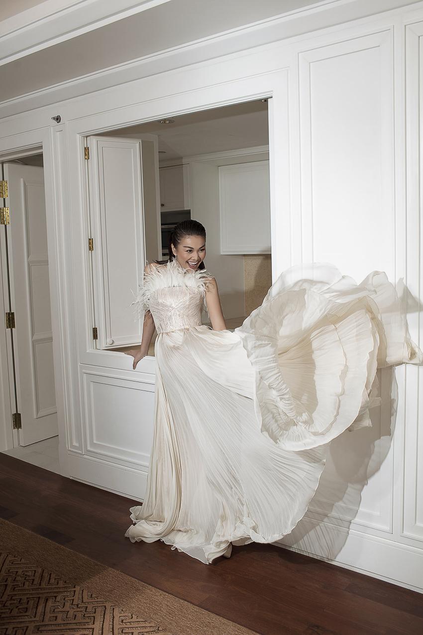Bộ ảnh thời trang CONG TRI do Hà Hồ và Thanh Hằng lên Vogue Pháp - 6