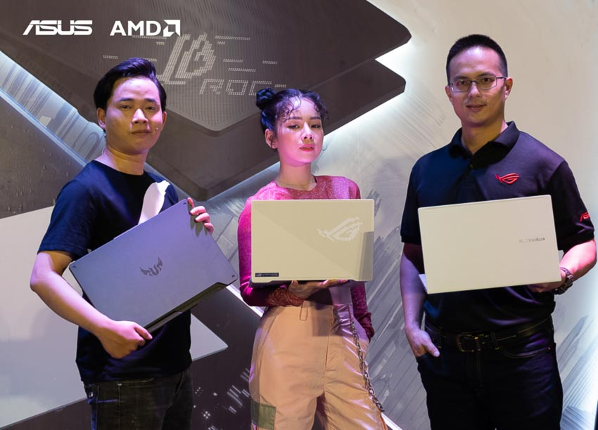 ASUS Việt Nam ra mắt dải sản phẩm sử dụng CPU AMD Ryzen 4000 Series tại sự kiện The Mash UP - 3