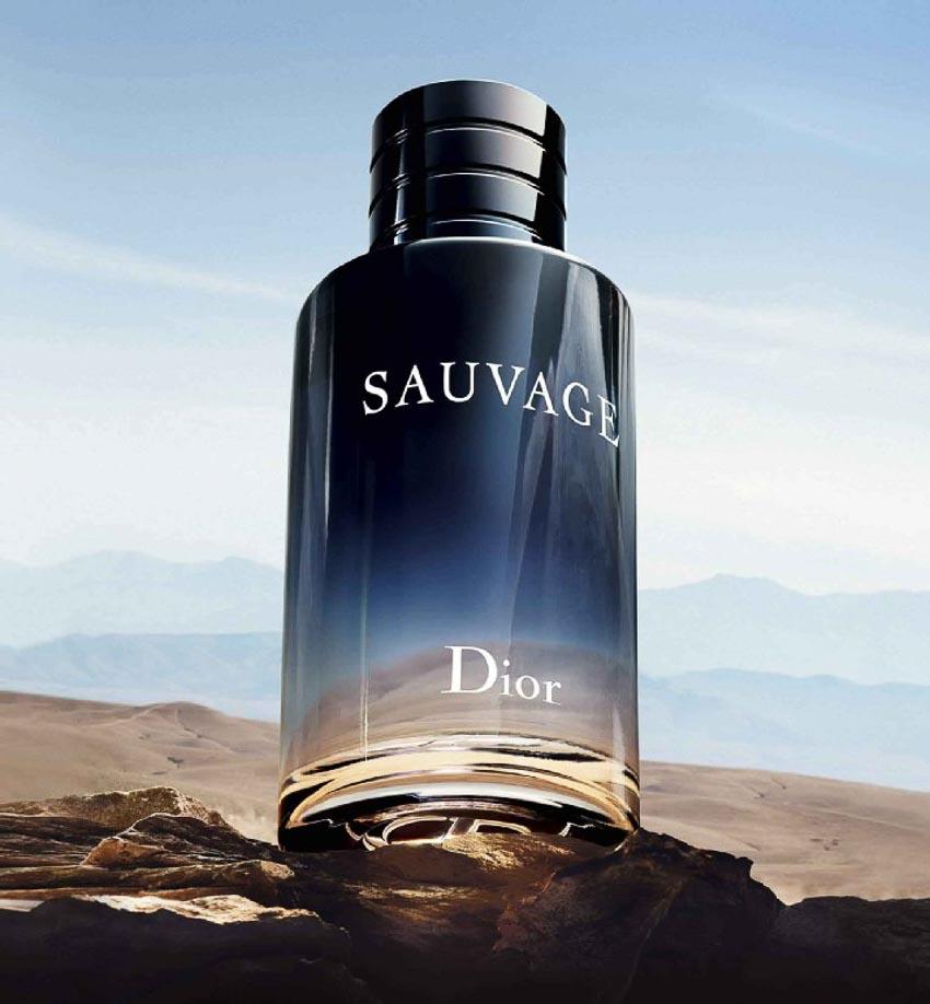 10 mùi hương quyến rũ nhất dành cho nam giới - Dior Sauvage eau de toilette
