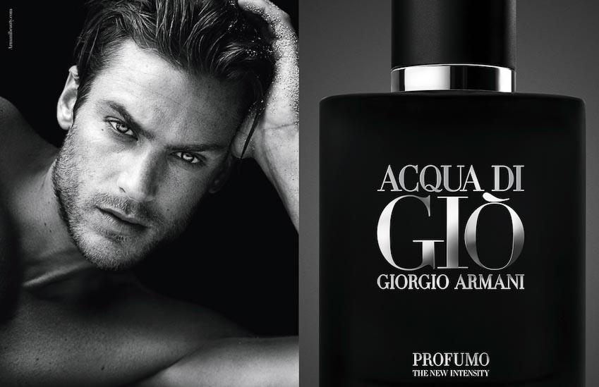 10 mùi hương quyến rũ nhất dành cho nam giới - Giorgio Armani Acqua Di Giò
