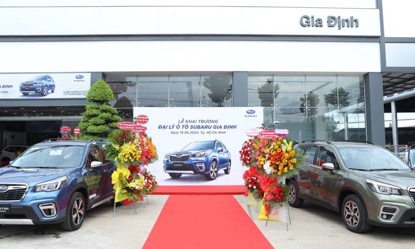 Subaru Việt Nam khai trương thêm đại lý ở Quận 12 – TPHCM 1