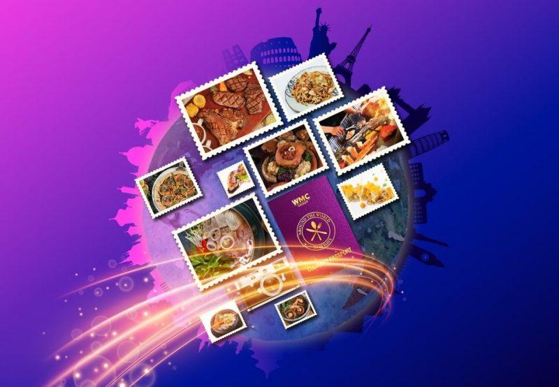 Khách hàng có càng nhiều tem ẩm thực, càng có nhiều cơ hội nhận thưởng của WMC. Ảnh:TL