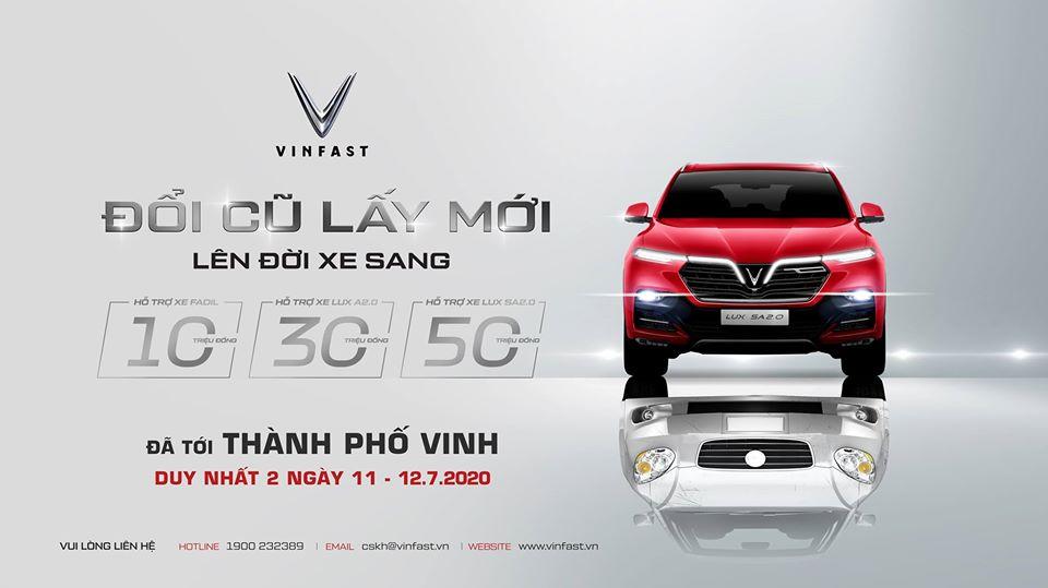 """VinFast mở rộng triển khai chương trình """"Đổi cũ lấy mới"""" tại TP.HCM và Nghệ An - 2"""