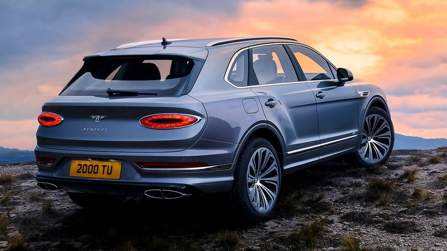 Bentley Bentayga 2021 - nâng cấp thiết kể và công nghệ - 2