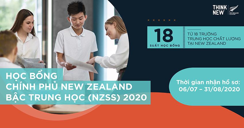 New Zealand công bố 22 học sinh xuất sắc nhận học bổng chính phủ NZSS 2020 - 1