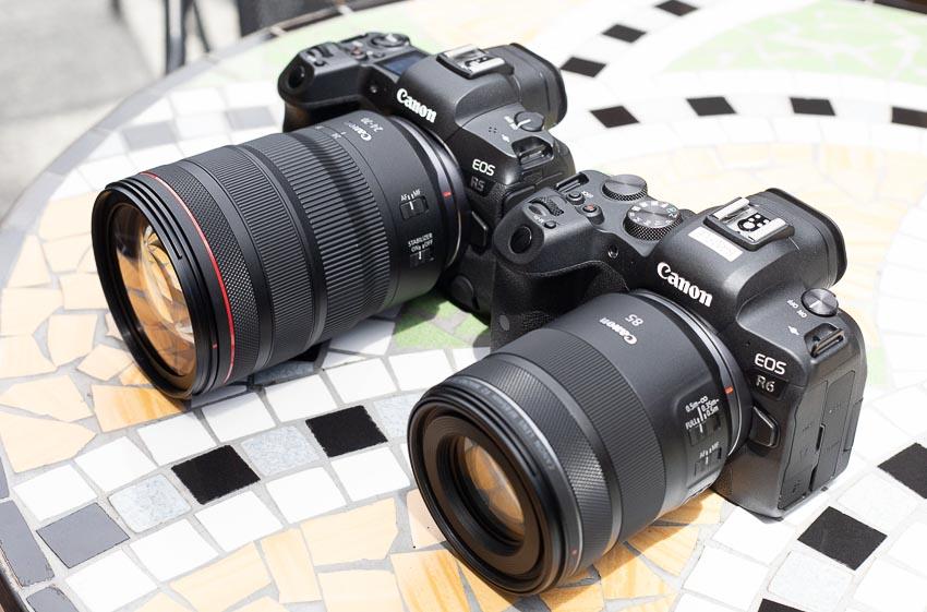 Trên tay bộ đôi máy ảnh Canon mirrorless full-frame EOS R5 và R6 tại Việt Nam - 23