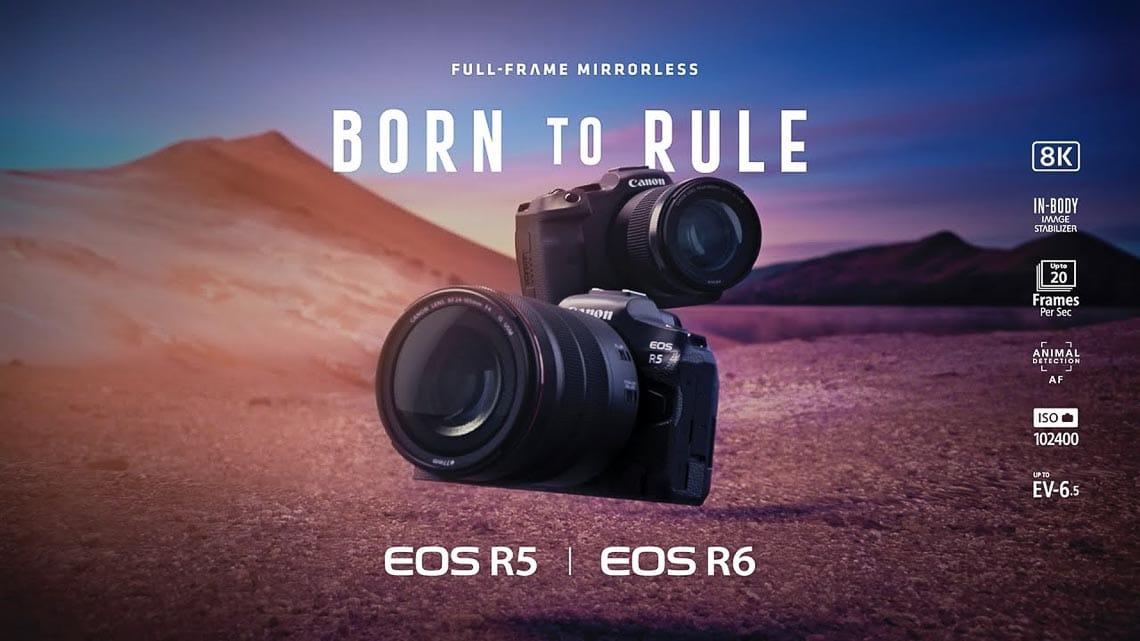 Canon EOS R5, R6 - Sự trở lại của dòng máy ảnh mirrorless cao cấp nhất - 1