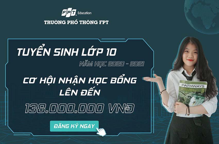 Trường THPT FPT Đà Nẵng trao 60 suất học bổng cho học sinh lớp 9 -2