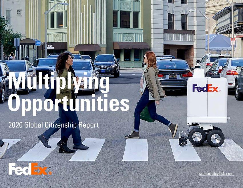 Báo cáo công dân toàn cầu Fedex