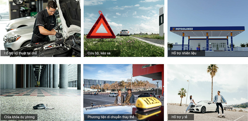 Mercedes-Benz ra mắt Dịch vụ hỗ trợ 24h - 3
