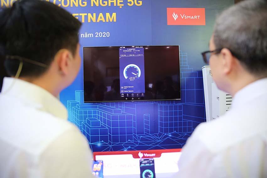 Smartphone 5G Việt Nam đầu tiên và công nghệ dẫn dắt đến tương lai -2
