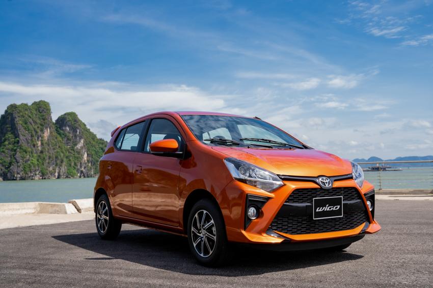 Toyota Wigo mới 2020 - Khởi động bằng nút bấm, DVD kết nối smart link, Camera lùi - 11