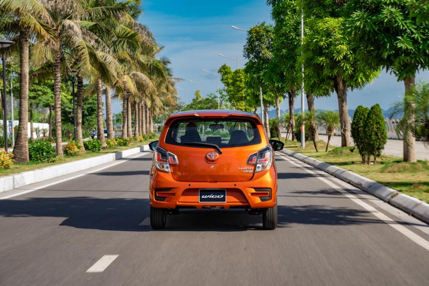 Toyota Wigo mới 2020 - Khởi động bằng nút bấm, DVD kết nối smart link, Camera lùi - 16