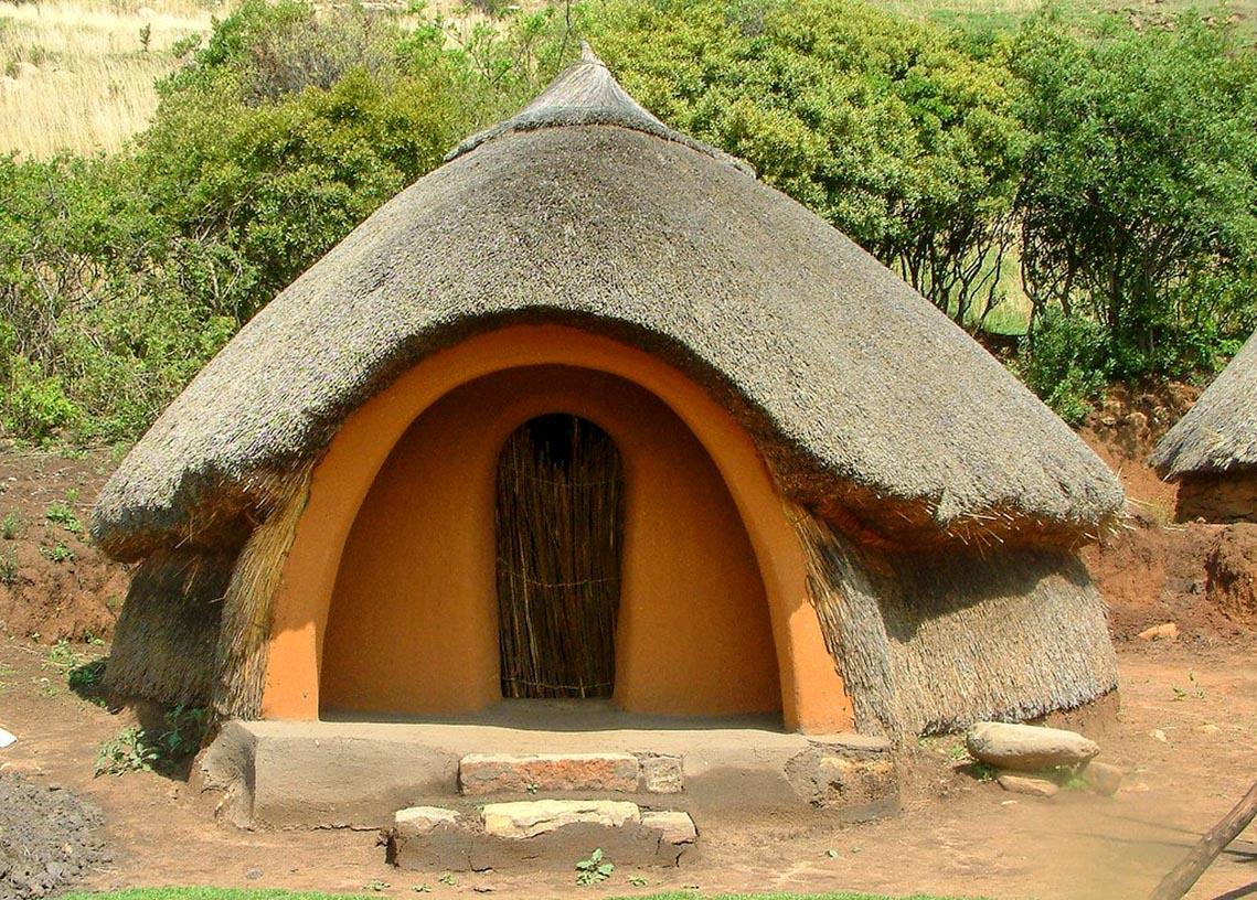 Giản dị mà bền vững lều dân gian châu Phi -1