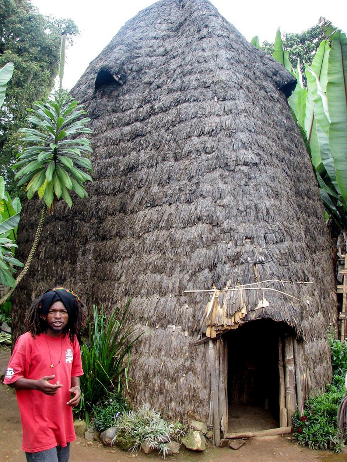 Giản dị mà bền vững lều dân gian châu Phi -6