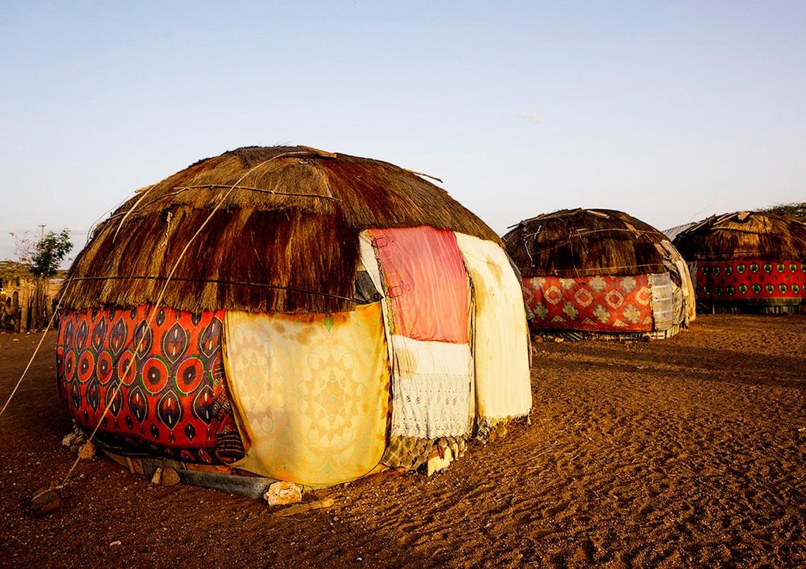 Giản dị mà bền vững lều dân gian châu Phi -7