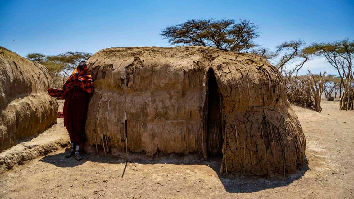 Giản dị mà bền vững lều dân gian châu Phi -12